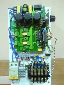 ...3-фазного асинхронного двигателя от однофазной сети переменного тока...