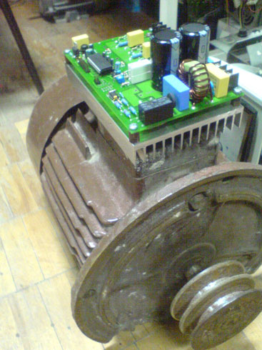 схема электрического двигателя постоянного тока